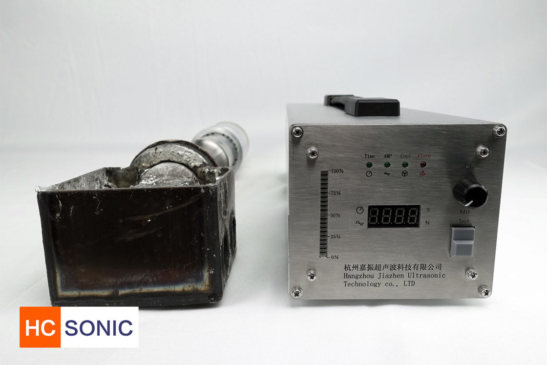 20Khz Ultrasonic Soldering Equipment Ultrasonic Metal Tinning / Grain Refinement