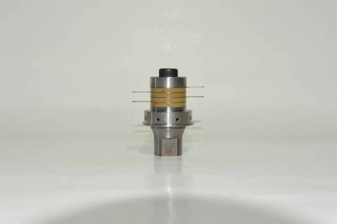 Solid Mount Ultrasonic Welding Transducer 40Khz For Ultrasonic Sealing Equipment