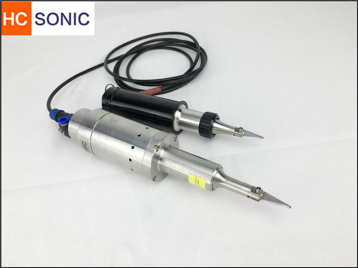 Sharp Blade Ultrasonic Cutting System Assembled On Cutting Machine 30Khz