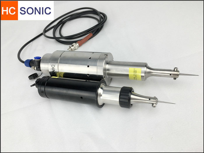 Compact 40Khz Ultrasonic Cutting Equipment Edge Cutting And Sealing Synchronous
